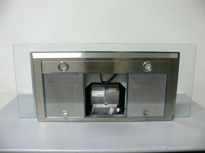 "Used Wolf VW45G 45"" Stainless Steel & Glass Cooktop Wall Hood w/ 600 CFM Blower"