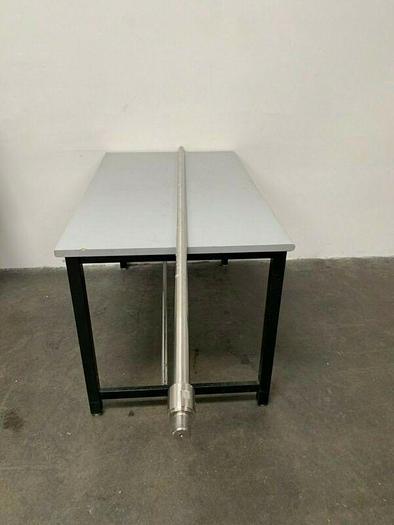 """Used Lightnin E95755002 Stainless Steel Mixing Rod / Impeller Shaft, 94"""""""