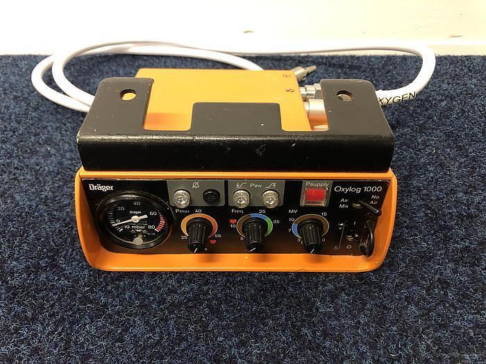 Drager Ventilator Oxylog 1000