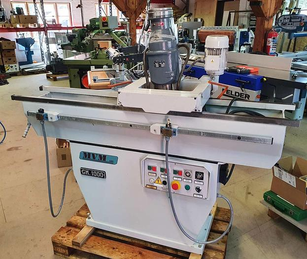 1999 MVW Italy GM 1000 Knifegrinder for straight knives