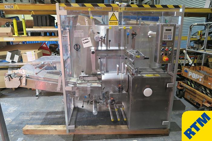 Used CARTON COLLATOR & STRETCH BANDER