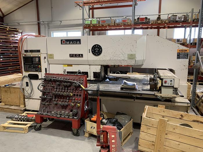 Used BRUGT CNC-REVOLVERSTANSER FABRIKAT AMADA, MODEL PEGA 244