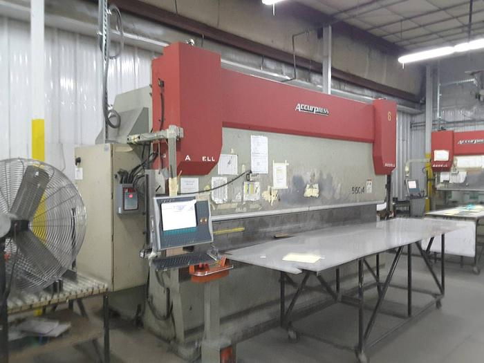 2007 Accurpress Accell 150 ton x 14ft Hyd. press brake 4 sale 515014