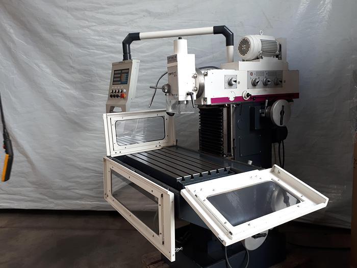 Gebraucht 2014 Optimum OPTImill  MX4 konventionelle  Universal Werkzeugfräsmaschine Ausstellungsmaschine
