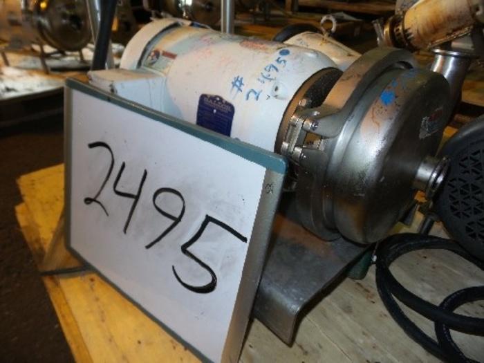 Waukesha/Cherry-Burrell 1 1/2'' x 1 1/2'' Centrifugal Pump #2495