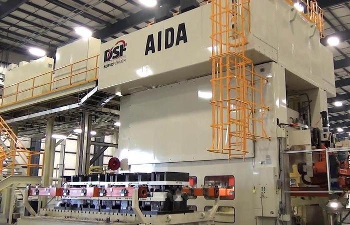 1500 ton AIDA Servo Transfer Press