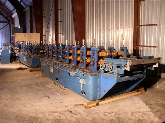"""Used 16 Stand Bradbury Roll Former; 37"""" roll space"""