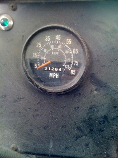 HB10405 International Straight 6x6 Chassis