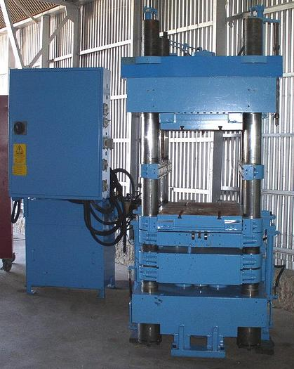 500 Ton Rutil Model RS SX 2000/250 AF 4-Post Injection Molding Press