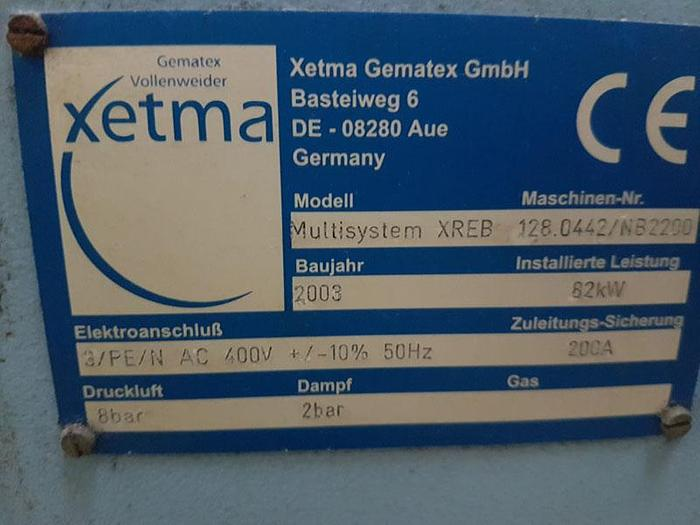 XETMA Raising emerizing machine
