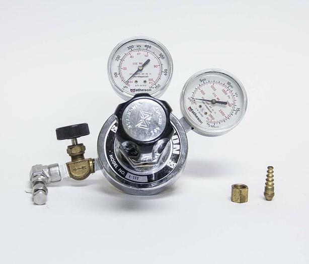 Used Matheson 8-580 Gas Regulator 3000 PSIG (3766)