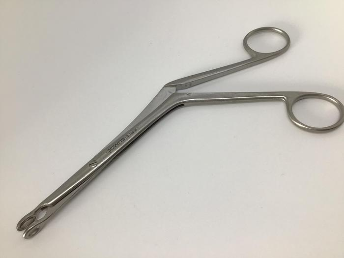 Used Forceps Nasal Turbinate Luc Small 6 mm Oval Jaw