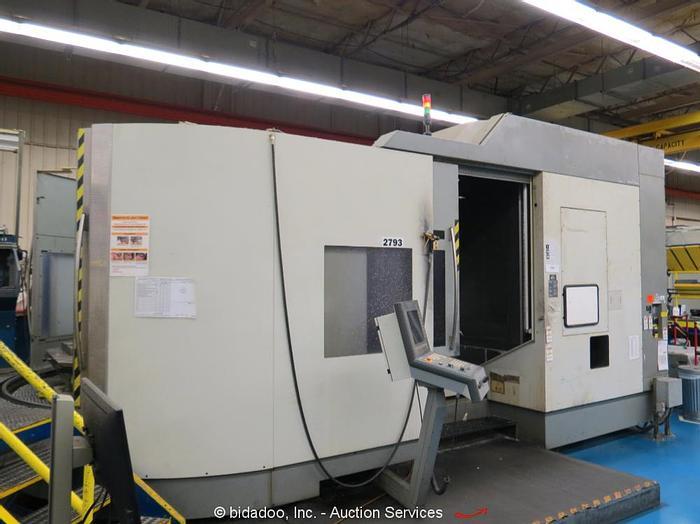 Used 2004 DMG DMC 160U Duo Block 5-Axis CNC Machining Center