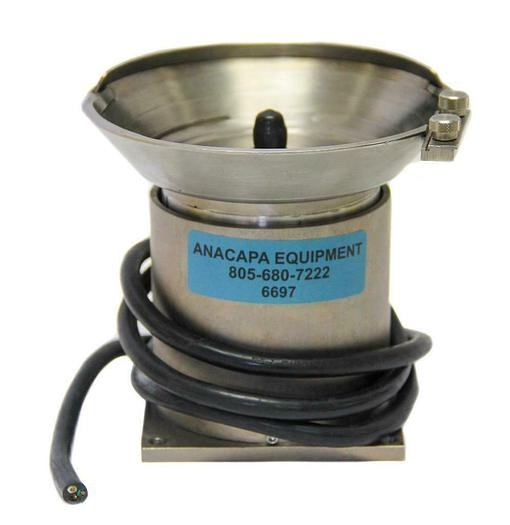 "Used Vibratory Parts, Vibratory Feeder Bowl 5-1/2"" Diameter (6697)W"