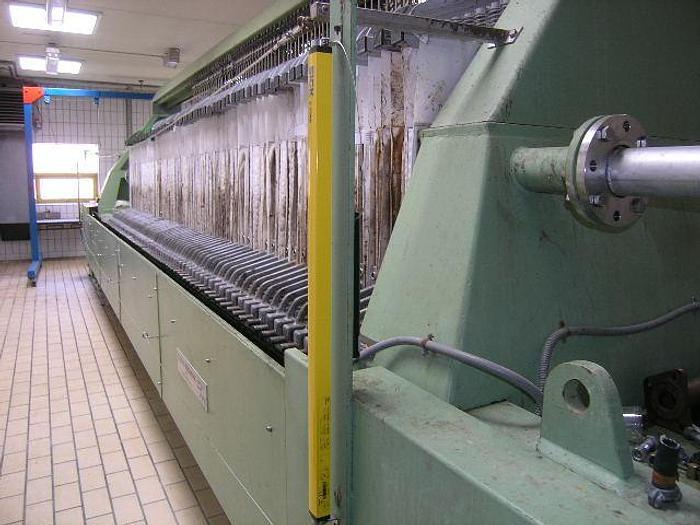 Used FILTRI DIEMME chamber filter press – GIGANTE 1500.