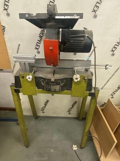 Used 1997 The Alpine Machine MR-222 ALuminum Cut Off Saw