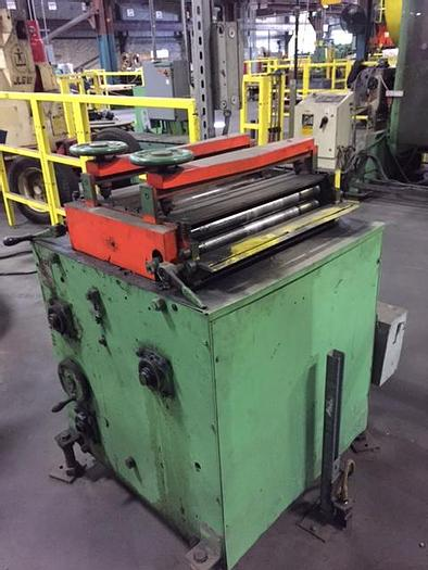 "Used 24"" x .050 ROWE POWERED STRAIGHTENER"