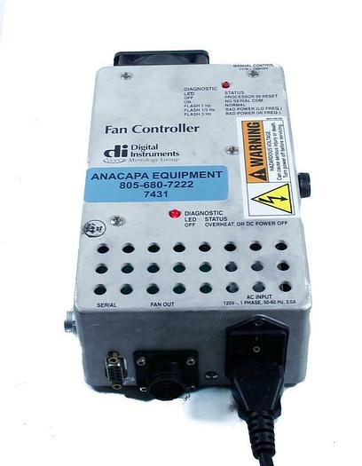 Used Digital Instruments DI Veeco Metrology Fan Controller (7431) G