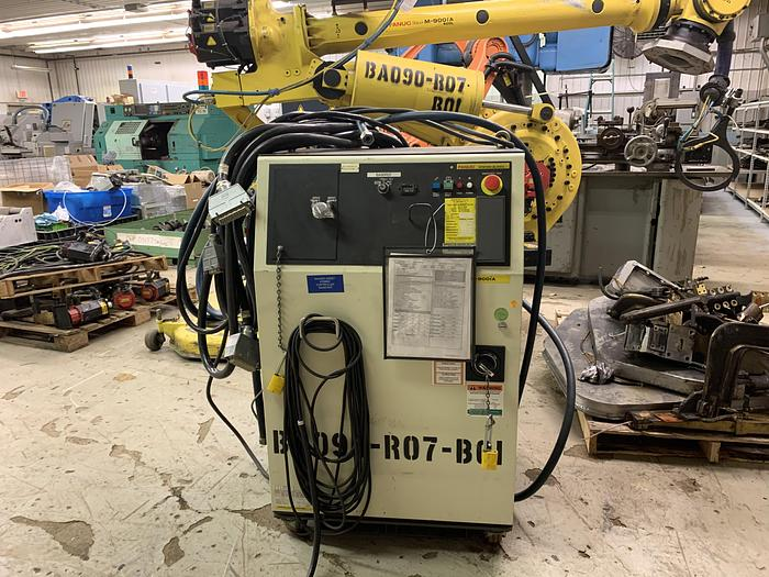 FANUC M900iA/400L 6 AXIS CNC ROBOT WITH R30iA CONTROLLER 400KG X 3625mm HIGH REACH
