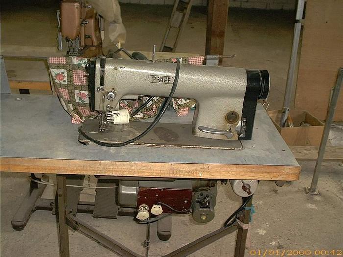 Gebraucht Schnellnäher mit Nadeltransport  PFAFF Kl. 461