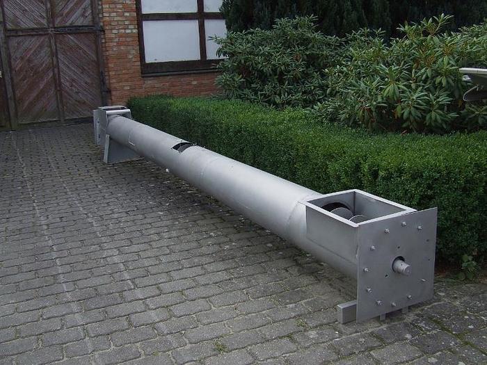 Używane Transporter ślimakowy w rurze, w całości wykonany ze stali nierdzewnej
