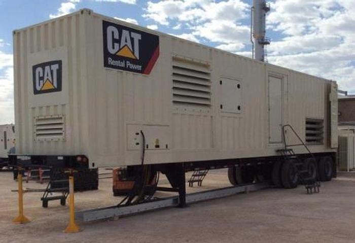 1.48 MW 2012 Caterpillar XQ1475G Natural Gas Generator