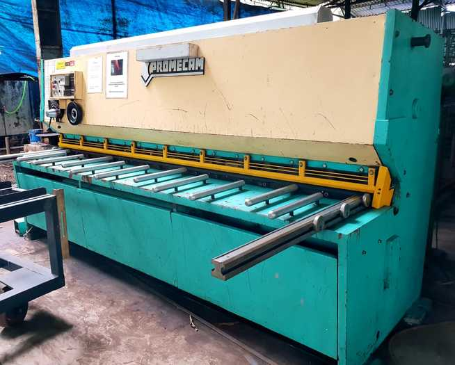 Promecam BRG 3100 Z6 Shearing Machine