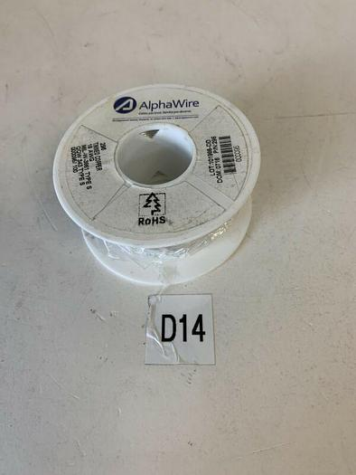 AlphaWire 296 Tinned Copper 18AWG MIL-W-3861 Type S