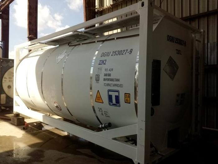 Used ISO Tanks –  Variety of Tanks Available