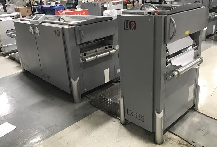 2008 / 2010 - Lasermax Tecnau Roll to Cut/Stack Solution w/ Slit / Merge - LX550 LX535 LX562/LX566