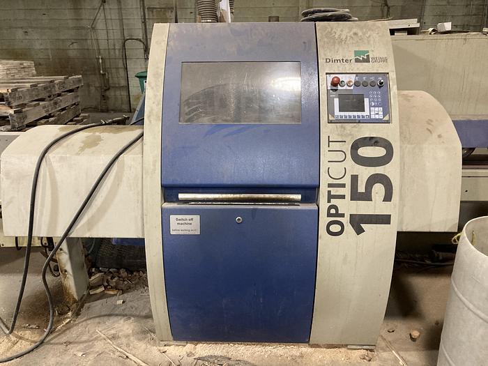 Used Weinig OptiCut 150-4R