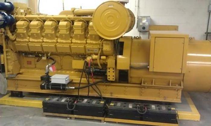 1.2 MW 2006 Used Caterpillar 3512 Diesel Generator