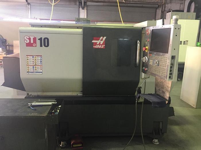 Used 2016 HAAS ST 10 CNC LATHE MACHINE