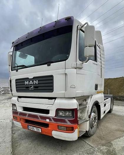 Gebruikt 2004 MAN TGA 18.460 , EURO 2, manual gearbox