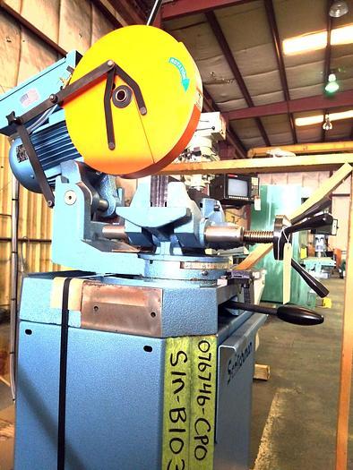 "14"" Scotchman CPO 350 Mitre Cold Saw, LT, 460V"