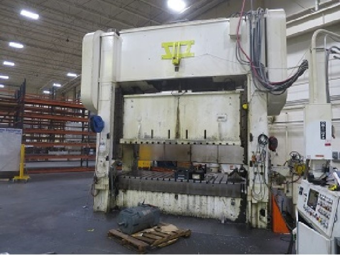 """Used 400 ton Brown & Boggs 120""""x54"""" SSDC Stamping Press"""