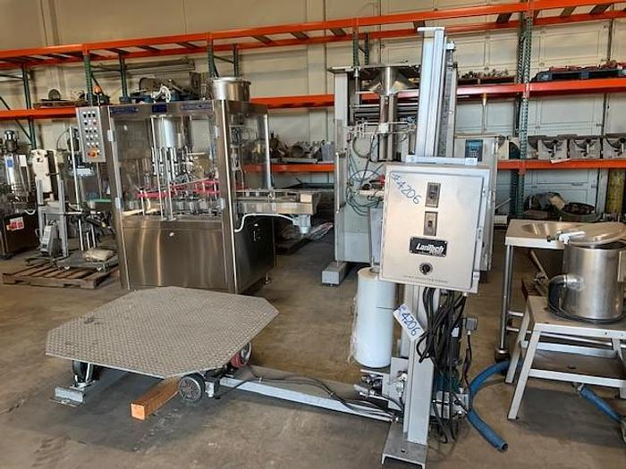 Used Lantech Pallet Stretch Wrapper Model STS-80LG