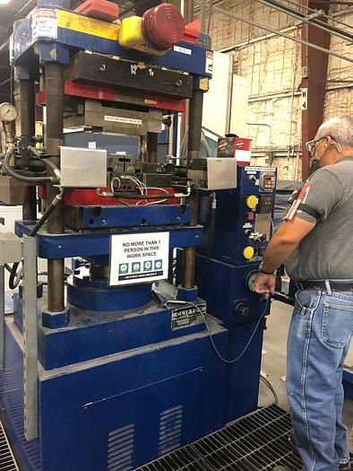 Used Clifton 75 Ton Hot Joggle Press