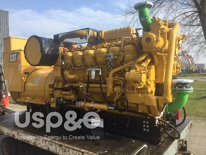 Used 1500 KW 2008 D3512HD CAT Diesel Genset