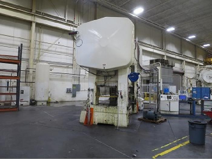 "400 ton Brown & Boggs 120""x54"" SSDC Stamping Press"