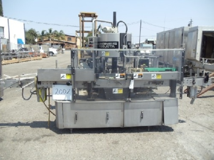 Krones Robusta Rotary Labeler