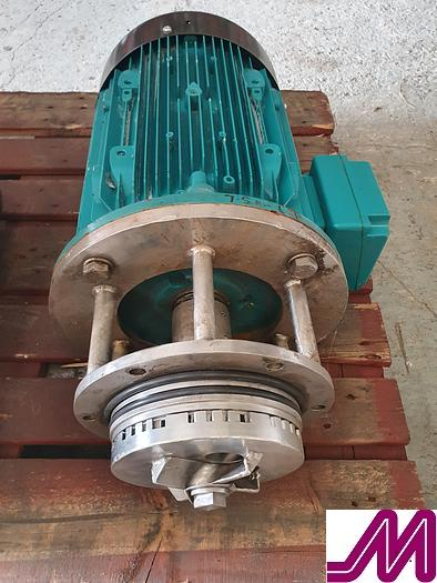 Used Stainless Steel In Tank High Shear Mixer