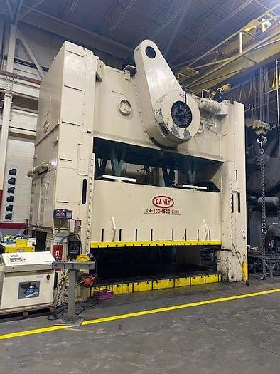 """Used 660 ton Danly 177""""x82"""" SSDC Stamping Press"""