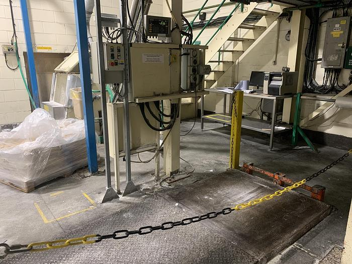 Used SALTER WEIGH-TRONIX W1 127 Platform Scale