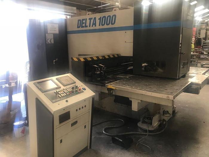Used LVD shape DELTA 1000 CNC turret punch