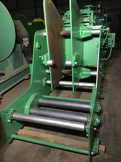 Used 8,000 lb. Rowe Mdl. 8-15 Coil Cradle / Straightener