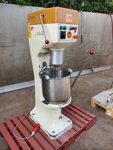 Gebraucht gebr. Rühr- und Anschlagmaschine BOKU mit Edelstahlkessel ca. 40 Liter
