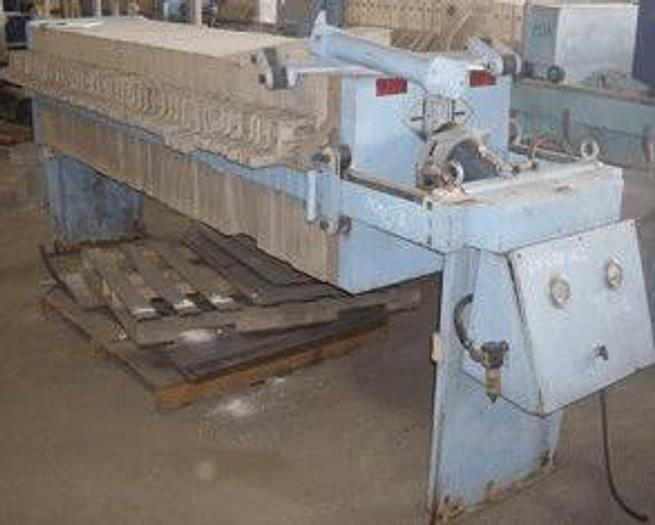 Used 13 CU. FT. BECKART ENVIRONMENTAL FILTER PRESS – 630 MM – AUTOMATIC – CGR – #6651