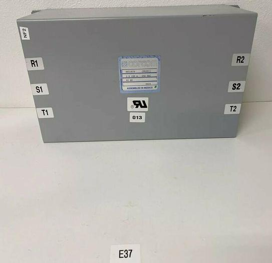 Used Preowned Corcom NF21879 3 X 100A 250 VAC 60 HZ Warranty Fast Shipping