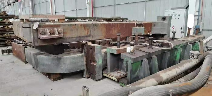 Used 1676mm Hunter 4-Hi Cold Rolling Mill and Twin-Roll Strip Casters: RM-451 and MC-452
